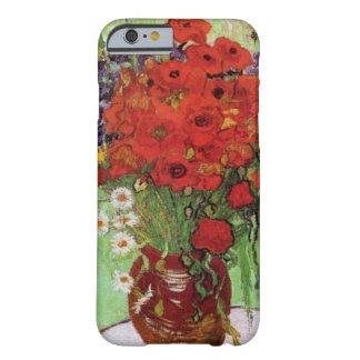 Van Gogh Red iPhone 6 van Papavers en van Barely There iPhone 6 Hoesje