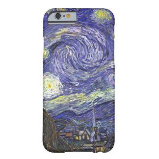Van Gogh Starry Nacht, het Vintage Art. van het Barely There iPhone 6 Hoesje