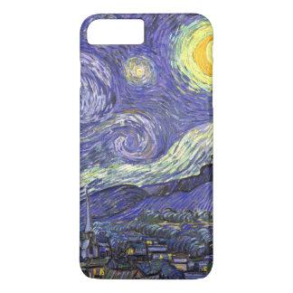 Van Gogh Starry Nacht, het Vintage Fijne Landschap iPhone 8 Plus / 7 Plus Hoesje