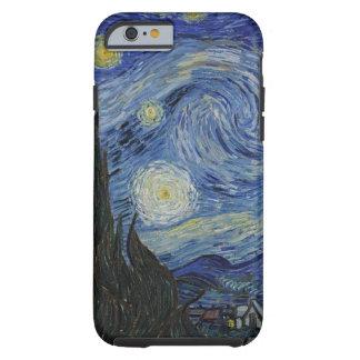 Van Gogh Starry Nacht Tough iPhone 6 Hoesje