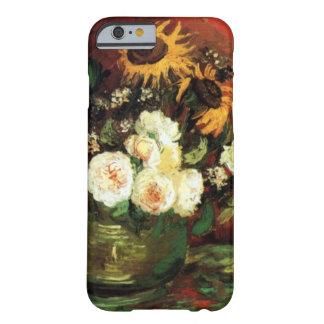 Van Gogh Sunflowers en Rozen Barely There iPhone 6 Hoesje