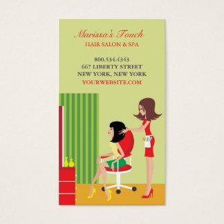Van het haar van de Salon w/Appointment- Visitekaartjes