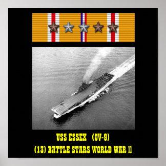 VAN USS ESSEX (CV-9) HET POSTER