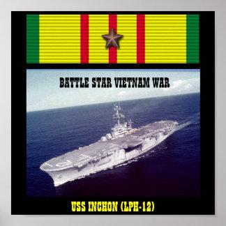 VAN USS INCHON (LPH-12) HET POSTER