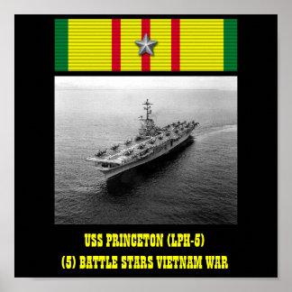 VAN USS PRINCETON (LPH-5) HET POSTER