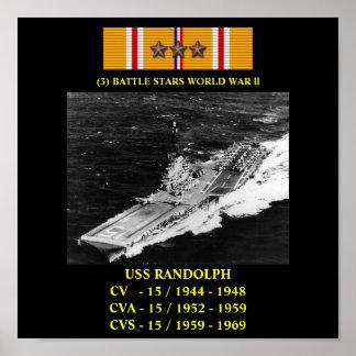 VAN USS RANDOLPH (CV/CVA/CVS-15) HET POSTER