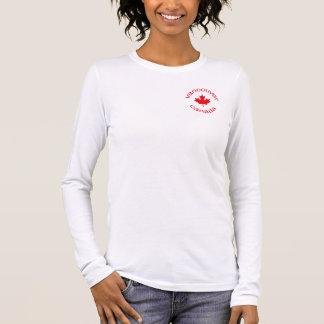 Vancouver Canada T-shirt À Manches Longues