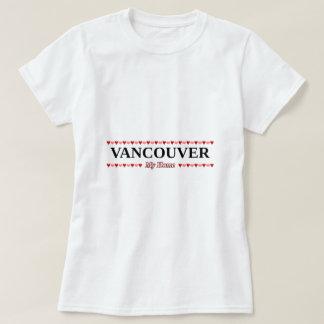 VANCOUVER - mon à la maison (coeurs roses et T-shirt