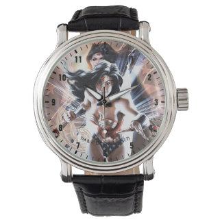 Variante comique de la couverture #609 de femme de montres bracelet