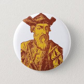 Vasco da Gama Badge Rond 5 Cm
