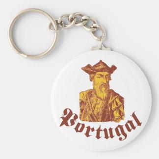 Vasco da Gama Portugal Porte-clé Rond
