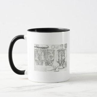Vase à Etruscan et conceptions, 1749 Mug