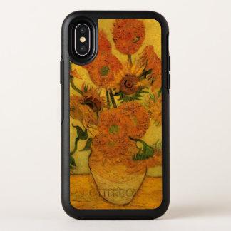 Vase à Van Gogh avec des tournesols, fleurs de