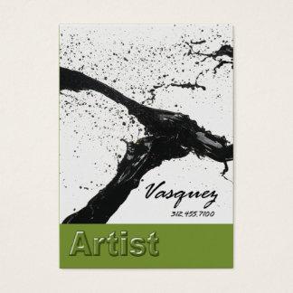 Vasquez - avocat audacieux d'illustrateur de cartes de visite