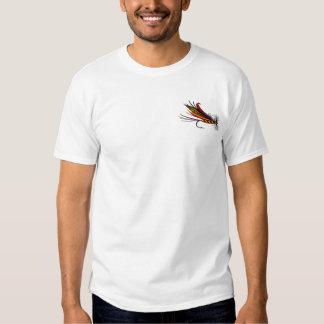 Vastgehaakt bij de Visserij van de Vlieg T-shirts