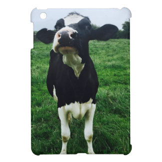 Veau mignon d'animal de ferme de vache coques pour iPad mini