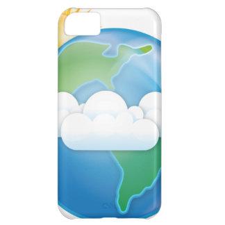 Vector Aarde Hoesje Voor iPhone 5C