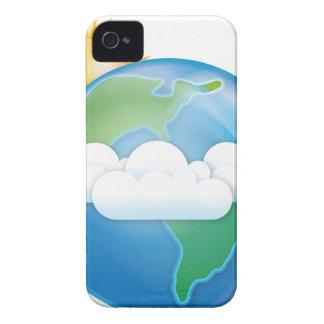 Vector Aarde iPhone 4 Hoesjes