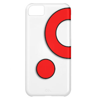 "Vector Kunst ""Cirkels"" (Rood) iPhone 5C Case"