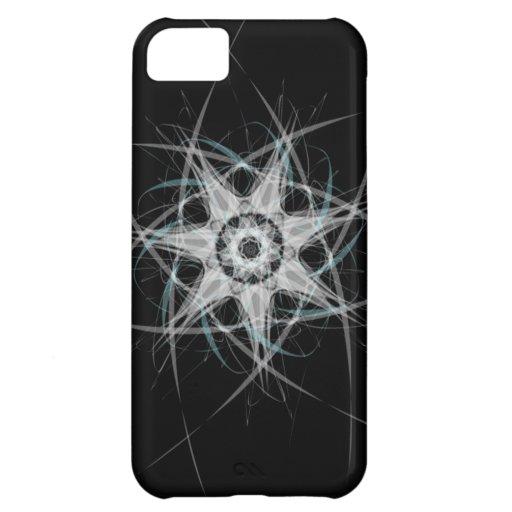 """Vector Kunst """"Toestel"""" (donkere/blauwe variatie) iPhone 5C Hoesje"""
