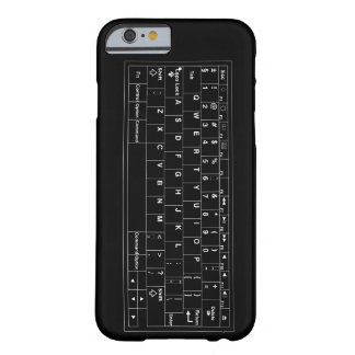 Vector Virtueel toetsenbord Barely There iPhone 6 Hoesje