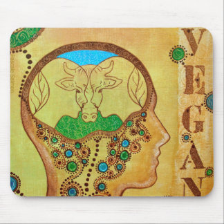 Vegan connection tapis de souris