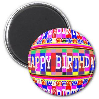 VELE manieren om GELUKKIGE Verjaardag te zeggen: Magneet