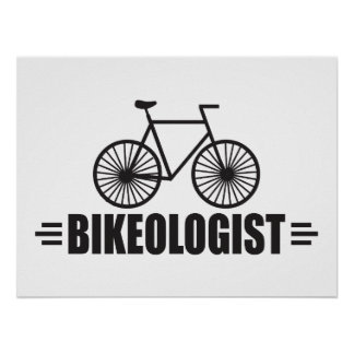 Vélo humoristique posters