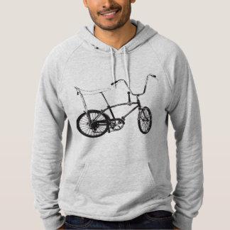 Vélo original de vieille école pull à capuche