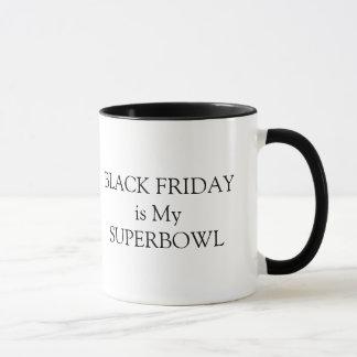 Vendredi noir est ma tasse de superbowl