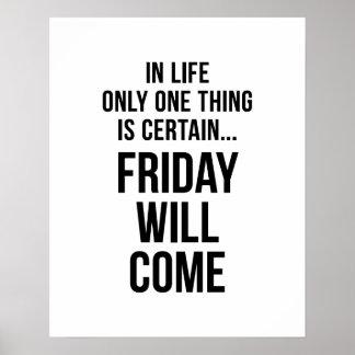 Vendredi viendra blanc drôle de motivation