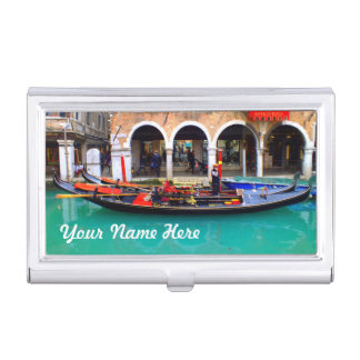 Venetië, Italië (IT) - Gondelier Visitekaarthouder