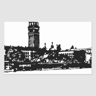 Venezia Sticker Rectangulaire