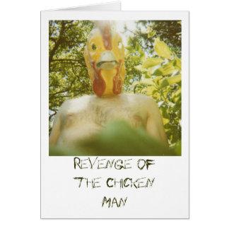 Vengeance de l'homme de poulet carte