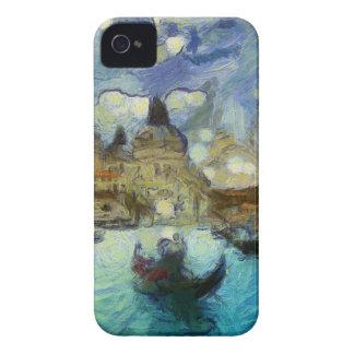 Venise-canal de Van Gogh Étui iPhone 4