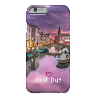 Venise, canal pittoresque de l'Italie et Coque iPhone 6 Barely There
