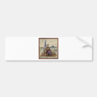 Venise par Gustave Moreau Autocollant De Voiture