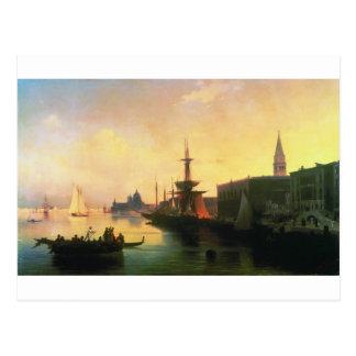Venise par Ivan Aivazovsky Carte Postale