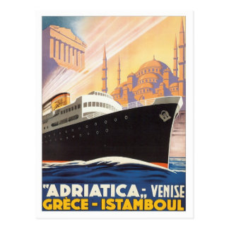 Venise vintage Grèce Istamboul Carte Postale
