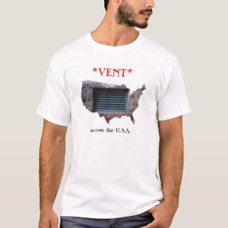 *VENT* à travers la pièce en t des Etats-Unis T-shirt