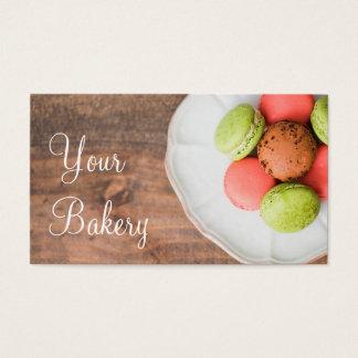 Vente d'affaires de cuisson de dessert de cartes de visite
