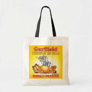 Ventre balloné de Garfield de sac fourre-tout à or