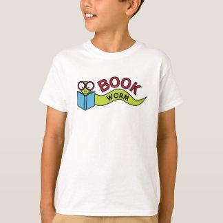 Ver de livre t-shirt