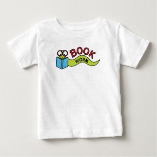 Ver de livre t-shirt pour bébé