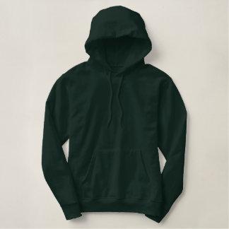 verdediger geborduurde sweater hoodie