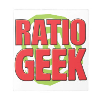 Verhouding Geek Notitieboek