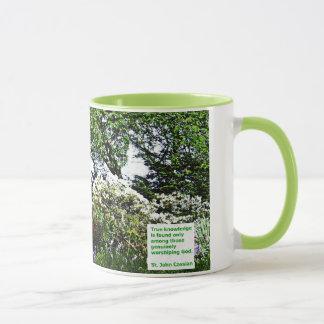 Véritable tasse de café de la connaissance