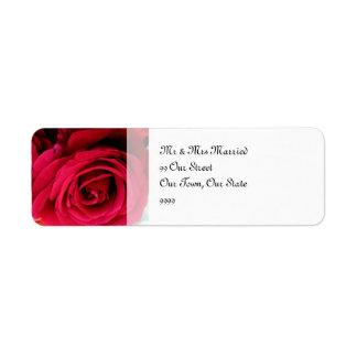veronderstel het Huwelijk van Rozen Etiket