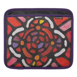 Verre souillé - douille abstraite d'Ipad Poches Pour iPad
