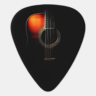 Version 1 de plectre de conception de guitare onglet de guitare